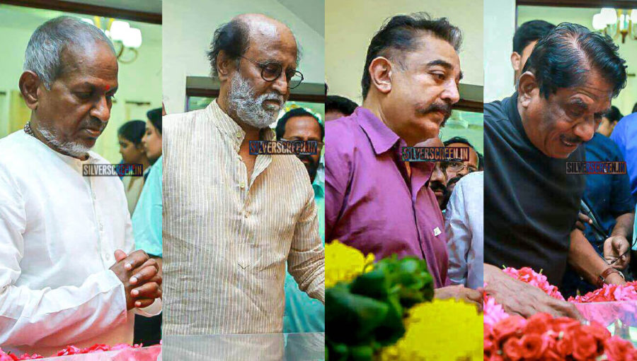 Celebrities Pay Homage To Director J Mahendran