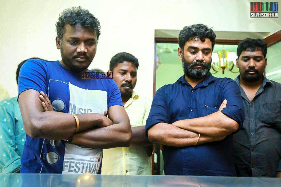 Lenin Bharathi, Mari Selvaraj Pay Homage To Director J Mahendran