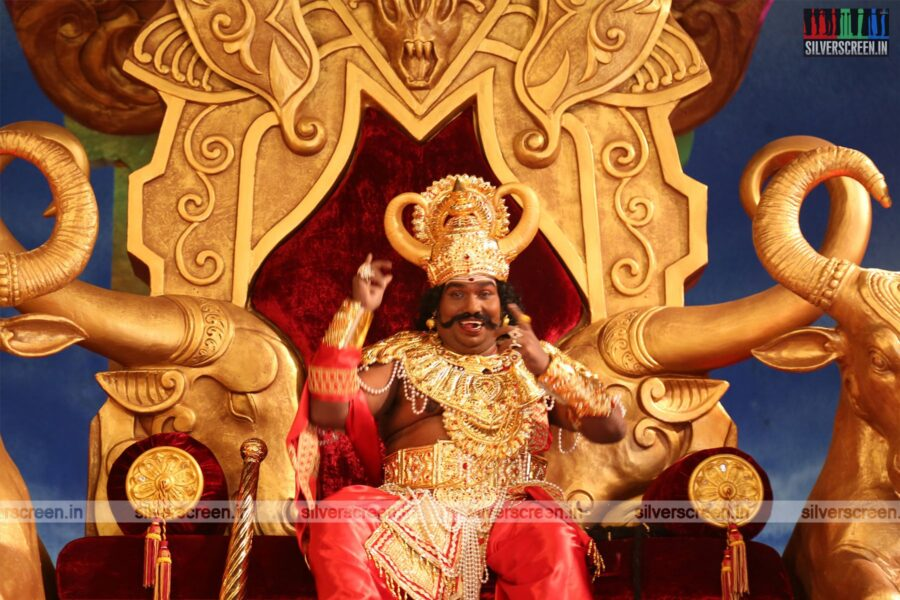 Dharmaprabhu Movie Stills Starring Yogi Babu