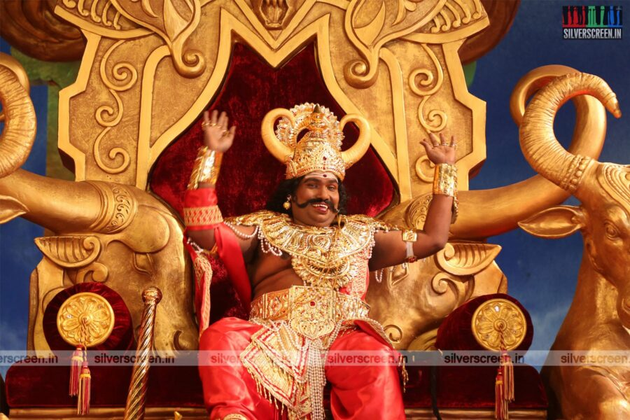 Dharmaprabhu Movie Stills Starring Yogi Babu