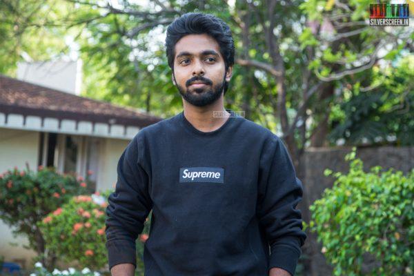 GV Prakash Kumar At The 'Watchman' Press Meet