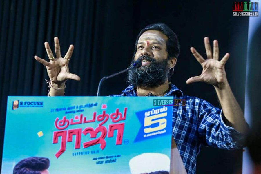Celebrities At The 'Kuppathu Raja' Press Meet