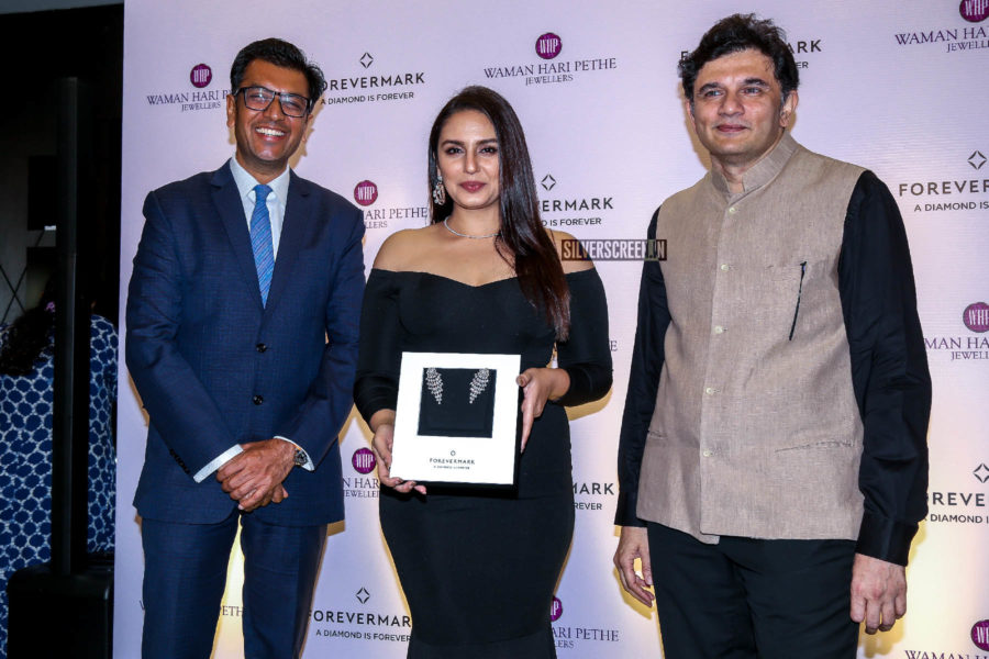 Huma Qureshi At The Launch Of A New Jewellery Collection