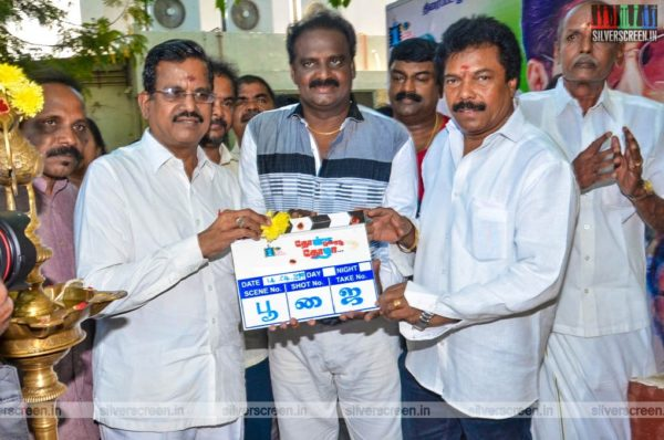 Jaguar Thangam, Kalaipuli S Thanu At The 'Thol Kodu Thozha' Movie Launch
