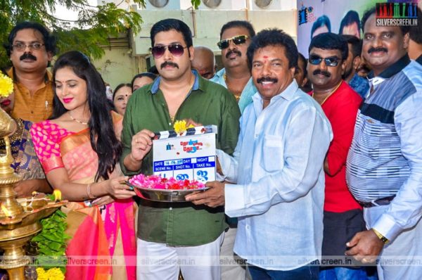 Jaguar Thangam At The 'Thol Kodu Thozha' Movie Launch