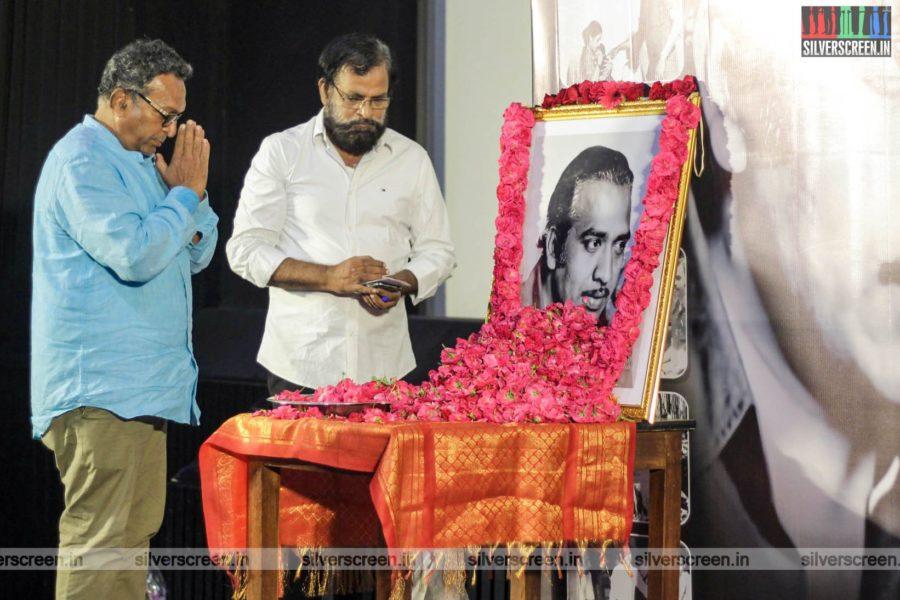 Nasser At The Director Mahendran Condolence Meeting
