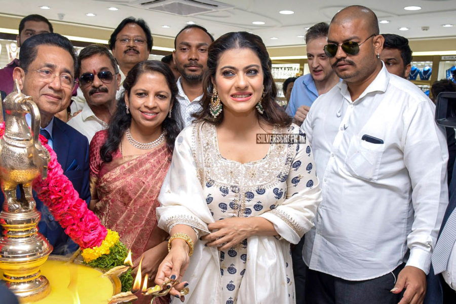 Kajol At The Launch Of A New Jewellery Collection