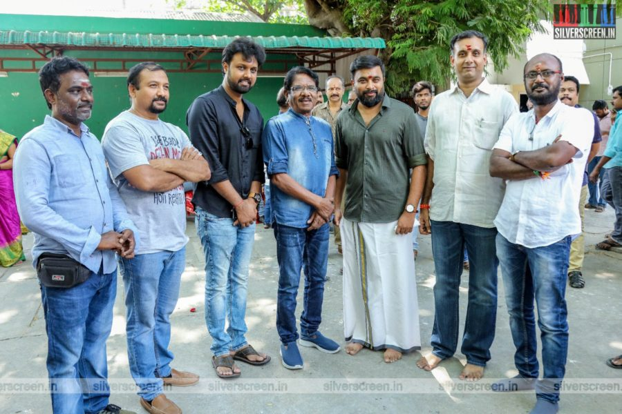 Kalpataru-M Sasikumar Production No 3 Movie Launch Photos