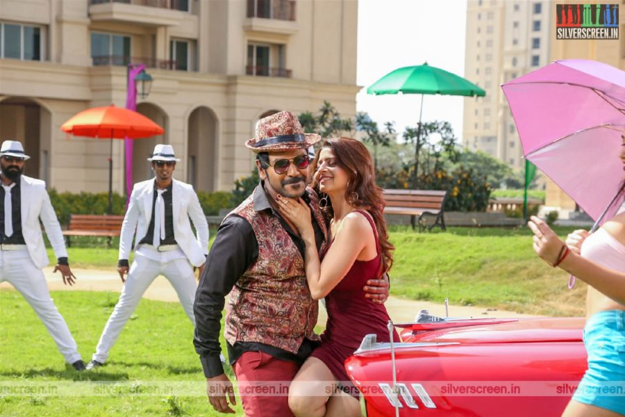 Kanchana 3 Movie Stills Starring Raghava Lawrence, Oviya