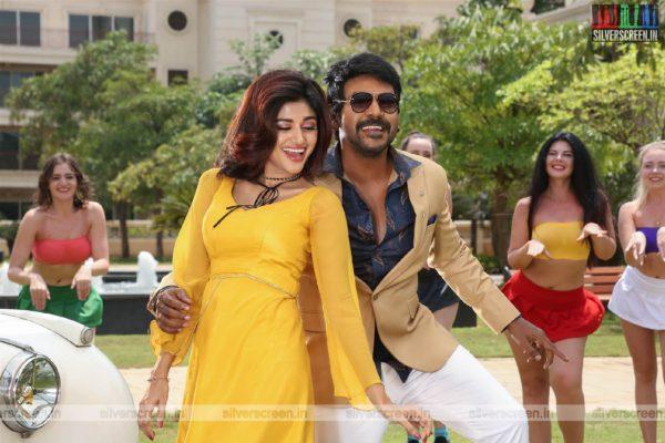 Kanchana 3 Movie Stills Starring Raghava Lawrence, Oviya