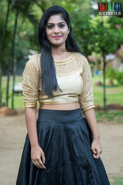 Varshitha At The 'EPCo 302' Press Meet