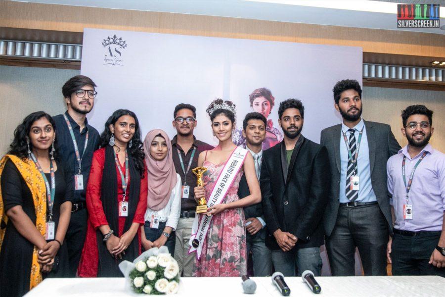 Miss South India Elite 2019 - Apurvi Saini Press Meet In Chennai