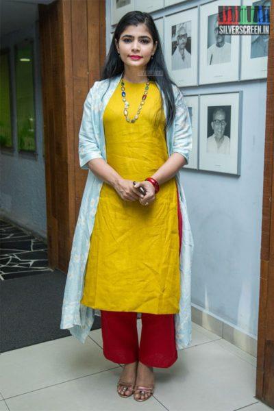 Chinmayi Sripada At The 'Mahila Ratna Awards'