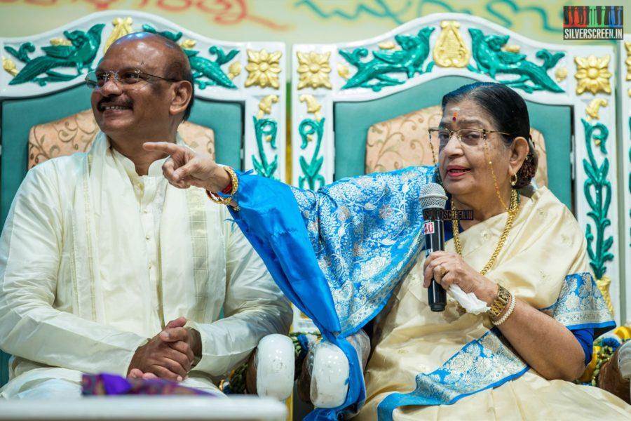 P Susheela At The 'Mahila Ratna Awards'