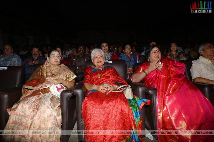 Sowcar Janaki At The 50th Year Celebrations Of Uyarantha Manithan