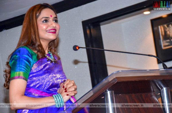Madhoo At The 'College Kumar' Movie Launch