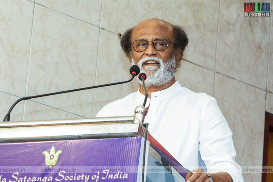 Rajinikanth At A Book Launch In Chennai