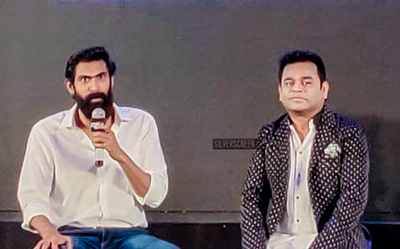 Rana Daggubati, AR Rahman At The 'Marvel Anthem of Avengers: Endgame' Telugu Trailer Launch