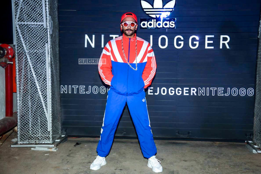 Ranveer Singh At A Store Launch