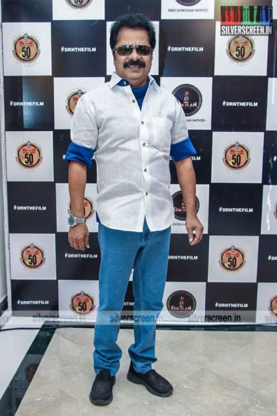 R Pandiarajan At The 'Dhanusu Raasi Neyargalae' Movie Launch