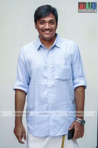 Sanjay Bharathi At The 'Dhanusu Raasi Neyargalae' Movie Launch