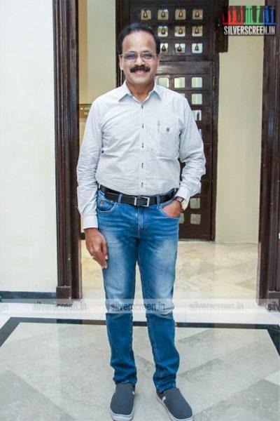 G Dhananjayan At The 'Dhanusu Raasi Neyargalae' Movie Launch