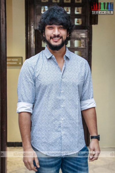 Gautham Karthik At The 'Dhanusu Raasi Neyargalae' Movie Launch