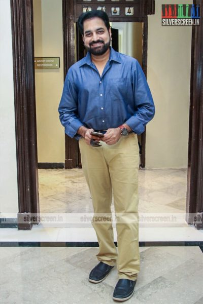 Vijay Adhiraj At The 'Dhanusu Raasi Neyargalae' Movie Launch