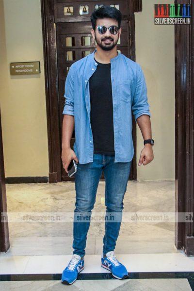Mahat At The 'Dhanusu Raasi Neyargalae' Movie Launch