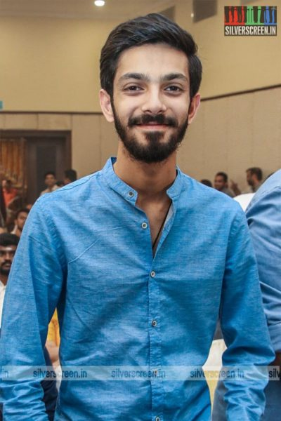 Anirudh At The 'Dhanusu Raasi Neyargalae' Movie Launch