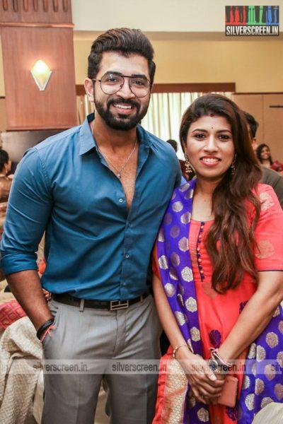 Arun Vijay At The 'Dhanusu Raasi Neyargalae' Movie Launch
