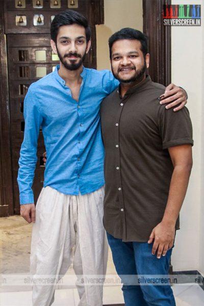 Anirudh, M Ghibran At The 'Dhanusu Raasi Neyargalae' Movie Launch