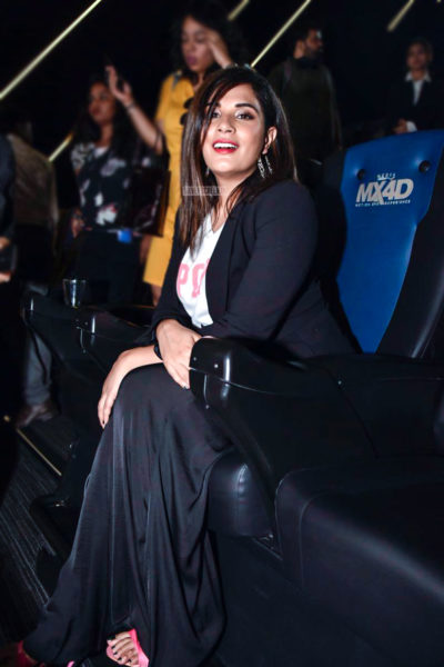 Richa Chadda At The 'IMAX 4D' Launch