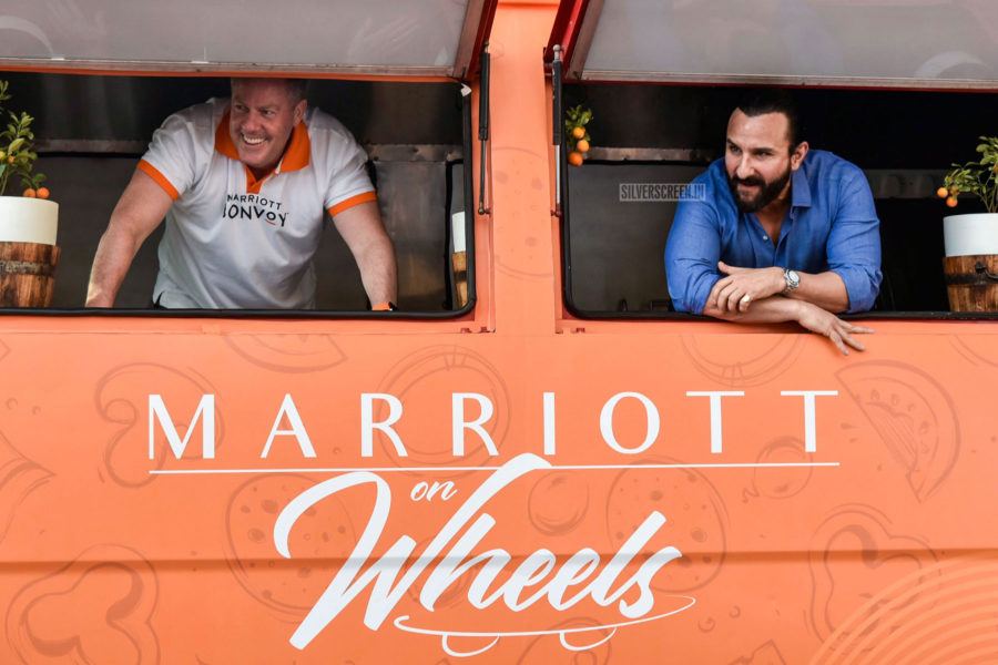 Saif Ali Khan At The Launch Of A Travelling Food Festival in Mumbai
