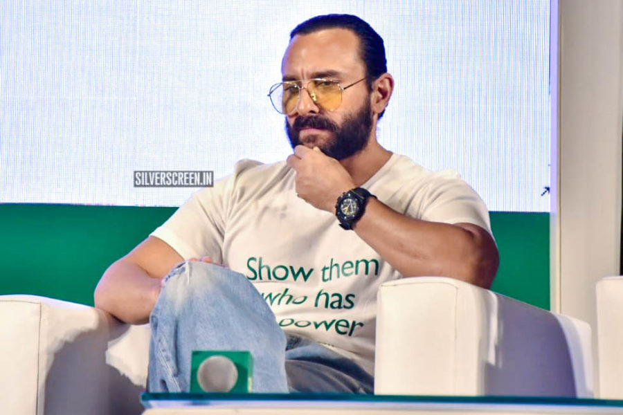 Saif Ali Khan At The '#UnitedByVote' Event