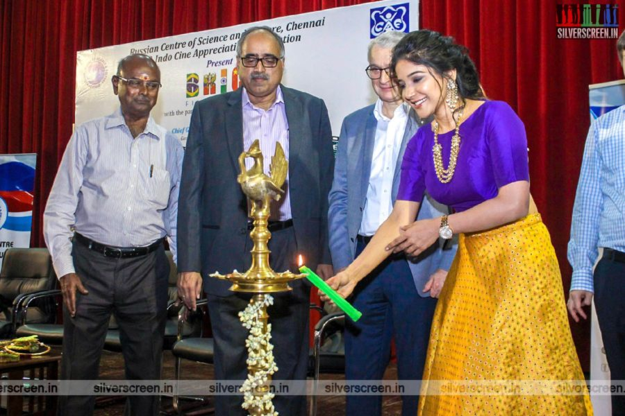 Sakshi Agarwal At The BRICS Film Festival Inauguration