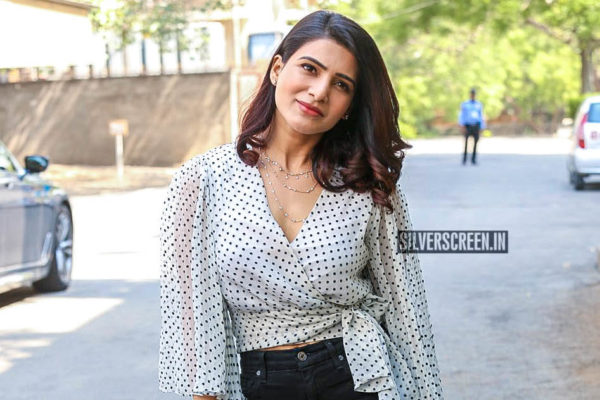 Samantha Akkineni At An App Launch