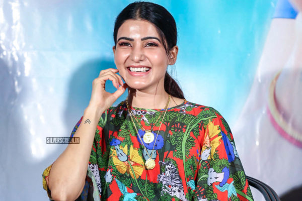 Samantha Akkineni At The 'Majili' Success Meet