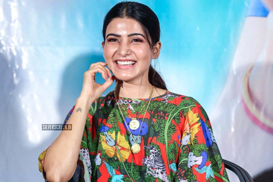 Samantha Akkineni At The 'Majili' Success Meet