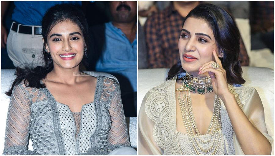 Samantha Akkineni, Divyansha Kaushik Promotes 'Majili'