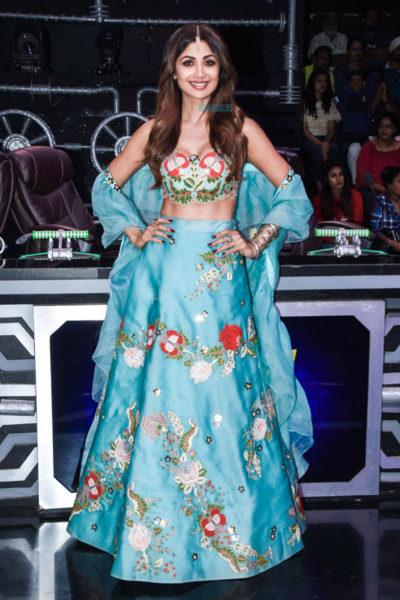 Shilpa Shetty On The Sets Of 'Super Dancer 3'
