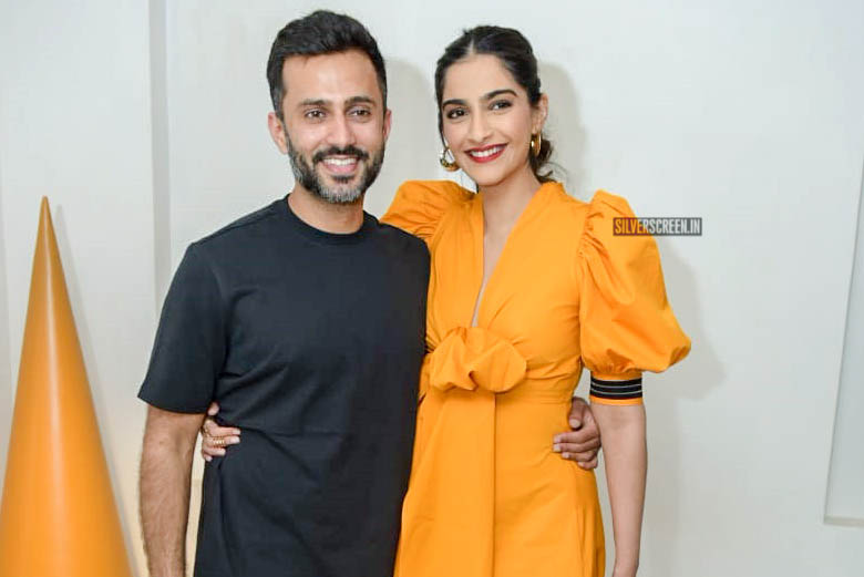 Sonam Kapoor At The Launch Of A Fashion Label's Latest Collection