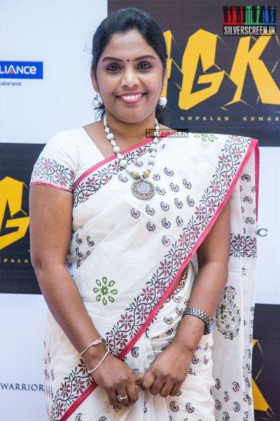 Uma Devi At The 'NGK' Audio & Trailer Launch
