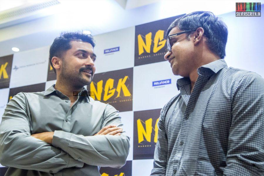 Selvaraghavan, Suriya At The 'NGK' Audio & Trailer Launch