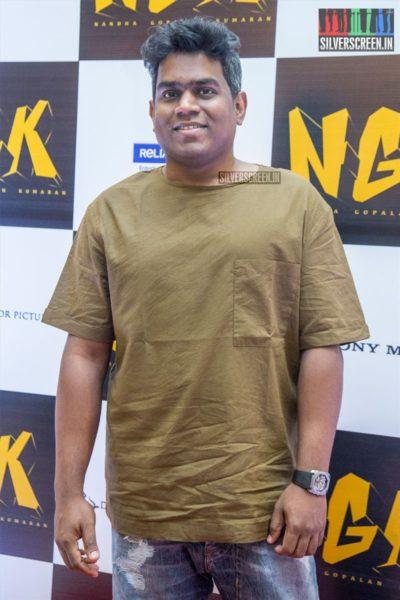 Yuvan Shankar Raja At The 'NGK' Audio & Trailer Launch