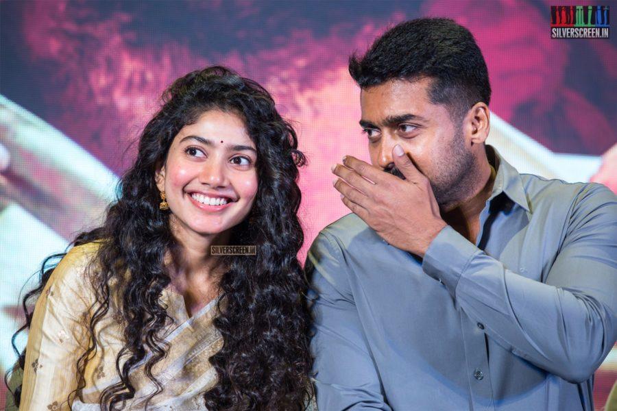 Sai Pallavi, Suriya At The 'NGK' Audio & Trailer Launch