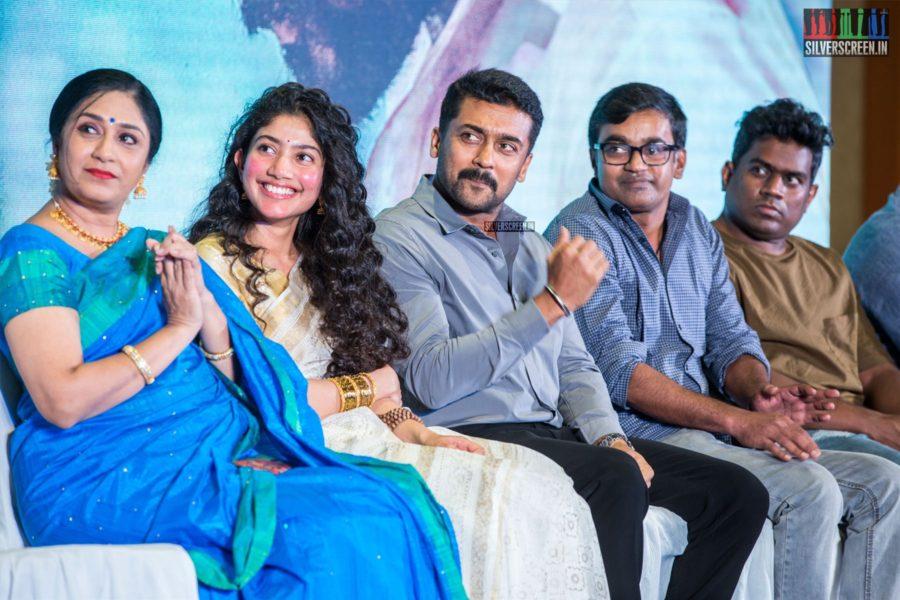 Sai Pallavi, Uma Padmanabhan, Suriya At The 'NGK' Audio & Trailer Launch