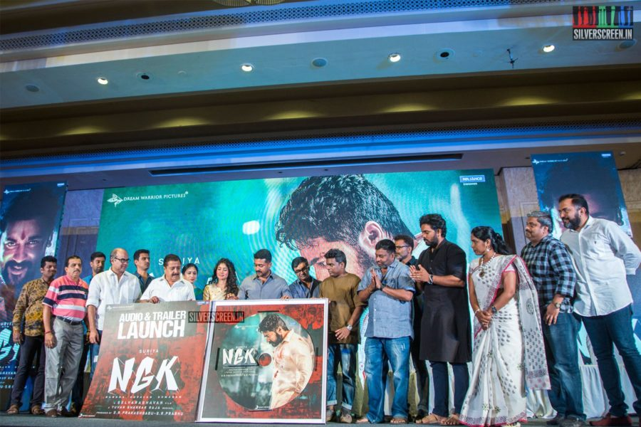 Celebrities At The 'NGK' Audio & Trailer Launch
