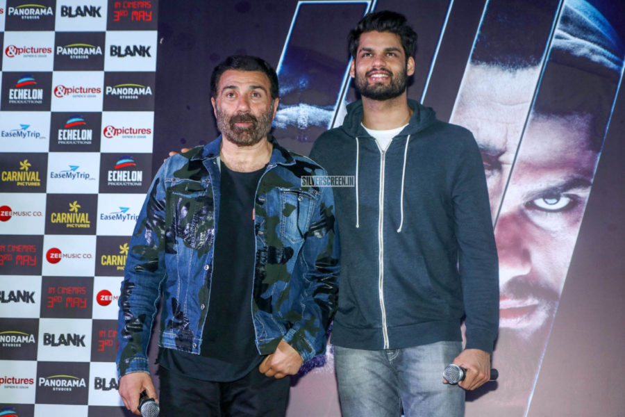 Sunny Deol At The 'Blank' Trailer Launch