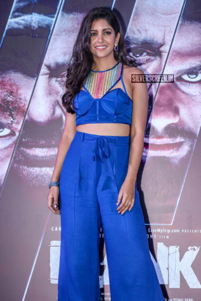 Ishita Dutta At The 'Blank' Trailer Launch